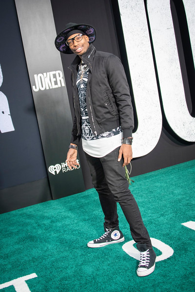 "HOLLYWOOD, CALIFORNIA - SEPTEMBER 28: Ra Nerdsworth attends the premiere of Warner Bros Pictures ""Joker"" on Saturday, September 28, 2019 in Hollywood, California. (Photo by Tom Sorensen/Moovieboy Pictures)"