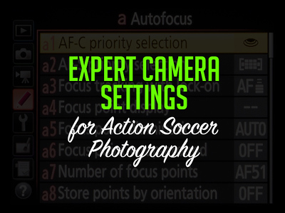 Perfect Camera Settings for Action Soccer Photography