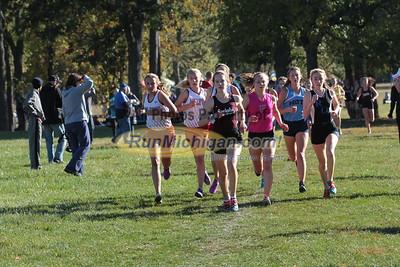 Girls Varsity 1.5 mile - 2015 Oakland County XC Championship
