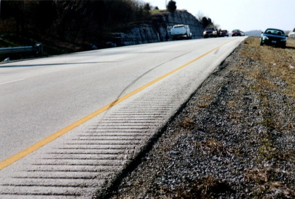 Here's a good way to get instant traction....if you are in a car, not a motorcycle sliding down the highway!