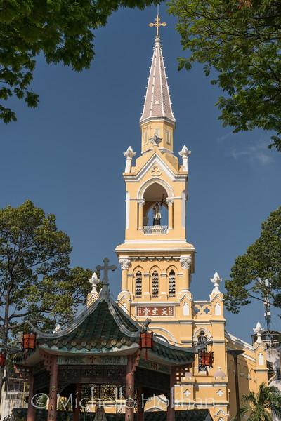 St. Francis Xavier Church, Ho Chi Minh City, Vietnam