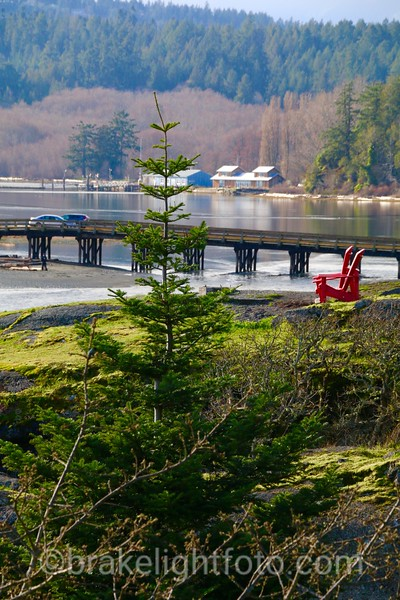 Esquimalt Lagoon from Fort Rodd Hill