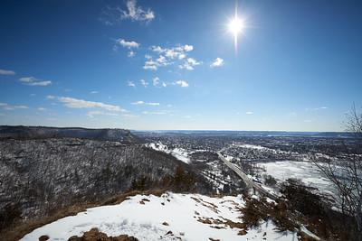 2017 UWL Snow Grandad Bluffs