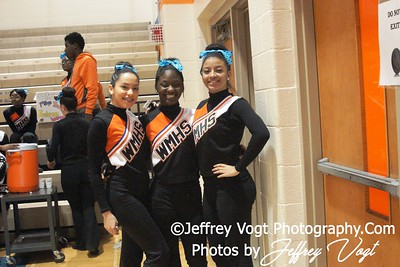 12-17-2012 Watkins Mill HS Cheerleading and Poms, Photos by Jeffrey Vogt Photography