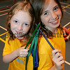 Lisa-marie Smyth and Amy Morgan pictured at the Newry and Mourne leisure services summer camp 2006. 06W31N17