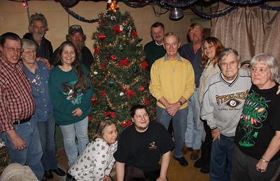 Member Christmas Party, Tamaqua Fire Police, Member's Home, Owl Creek Road, Tamaqua (12-21-2013)