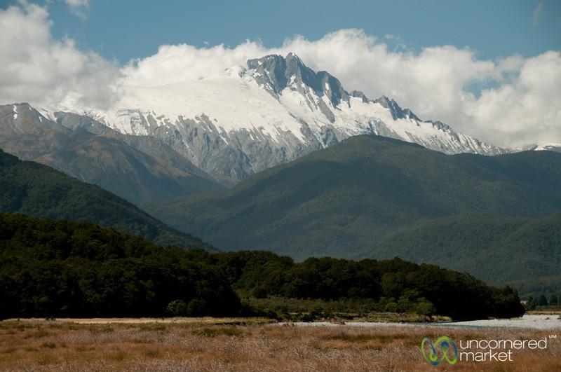 Mountains Near Queenstown, New Zealand