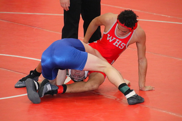 WHS JV WRESTLING DOUBLE DUAL  010719