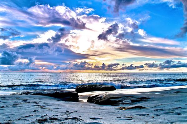 La Jolla Lavendar Sunset