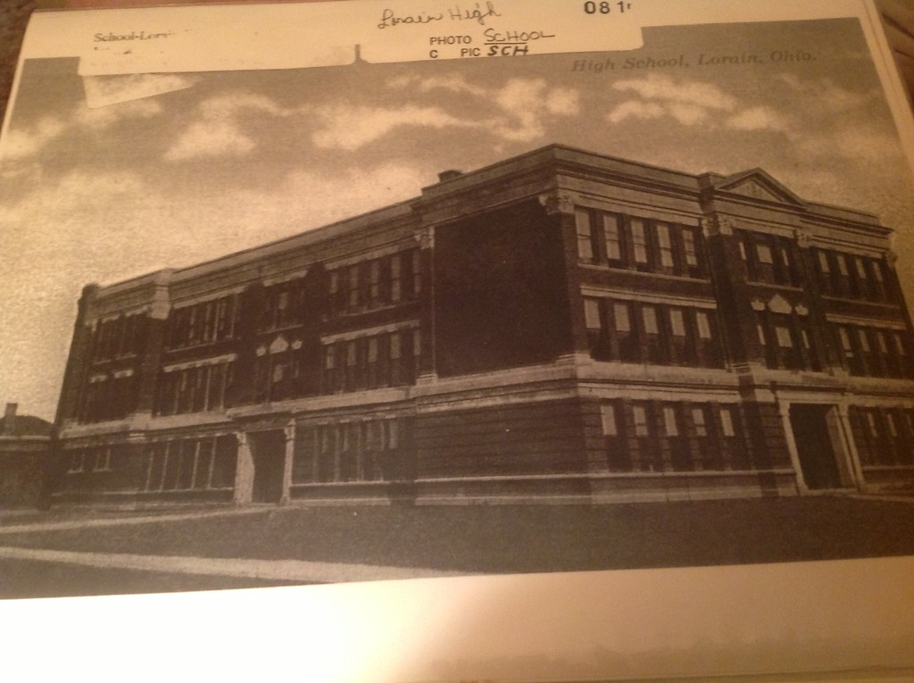. Historic photo provided by Jim Smith <br> Lorain High School as it looked from 1913 to 1916.