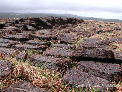 Peat Cutting - Isle of Skye