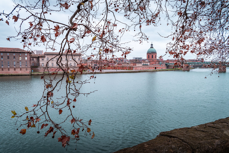 West bank of the Garonne River, Toulouse