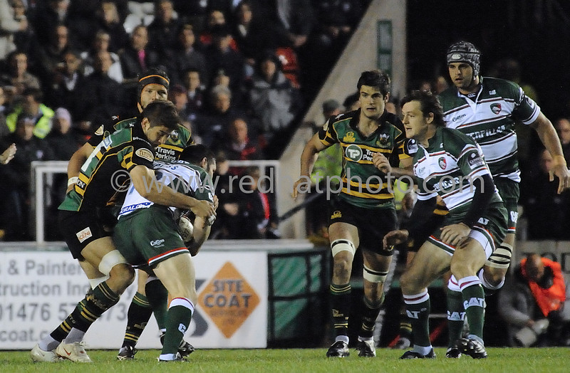 Leicester Tigers vs Northampton Saints, Guinness Premiership, Welford Road, October 1, 2008