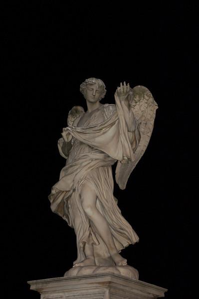 Bernini Angel---Rome, Italy