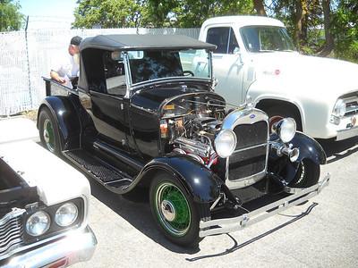 Car Show at Hunter Garage