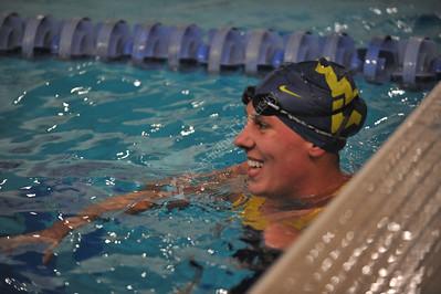 28000 WVU Women's Men's  Swimming Diving November 2011