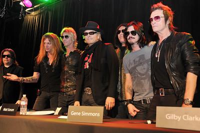 RocknRoll ALL STARS Press Conference @ Roxy in L.A. 2012