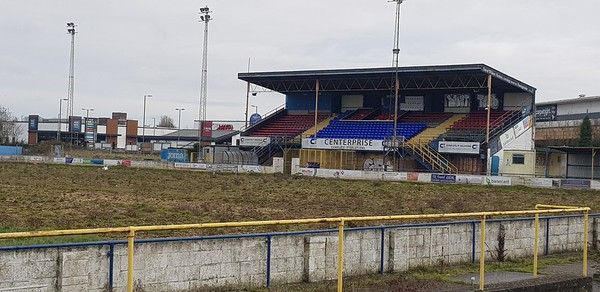 Basingstoke Town FC former ground 2021