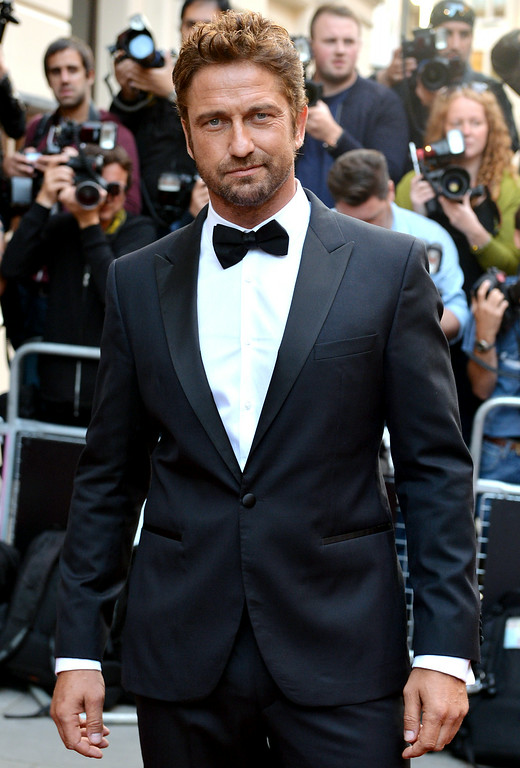. Gerard Butler attends the GQ Men of the Year awards at The Royal Opera House on September 2, 2014 in London, England.  (Photo by Anthony Harvey/Getty Images)