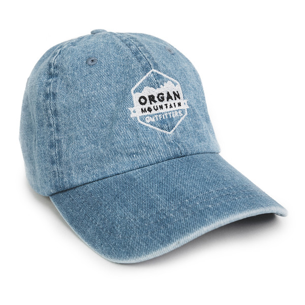 Organ Mountain Outfitters - Outdoor Apparel - Hat - OMO Denim Dad Cap - Blue.jpg