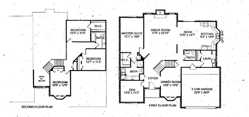 Floor Plan, That's actually a 2.5 car garage.  This Floorplan needs some modifications, but give you the idea.  2675 SQF