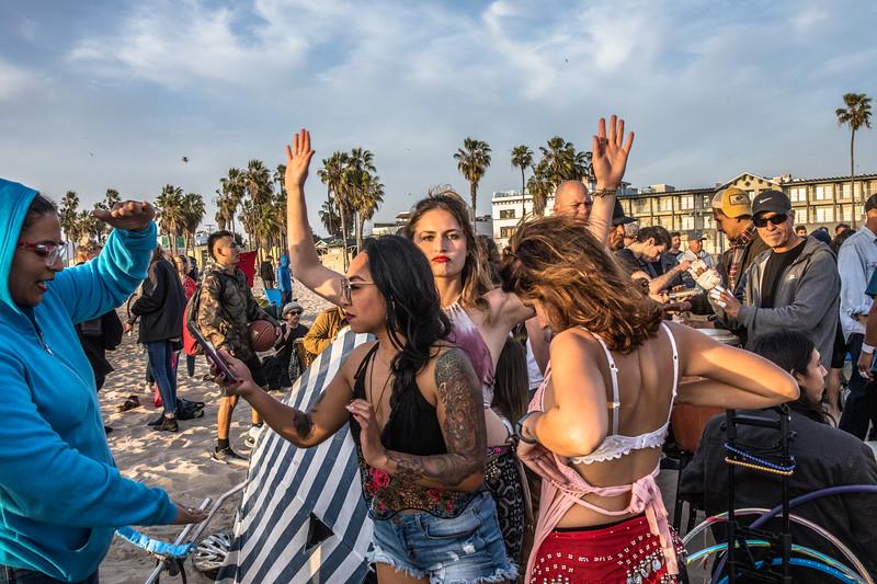 Venice Beach Drum Circle