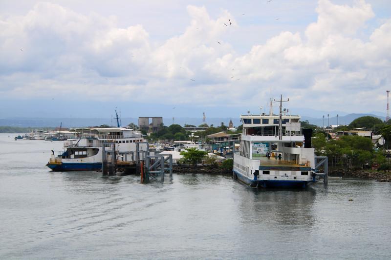 Ferry boat in Puntarenas, Costa Rica