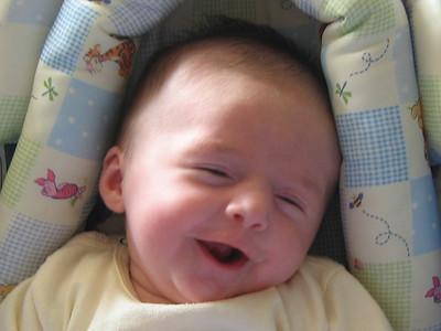 Primeras risas / First laughs