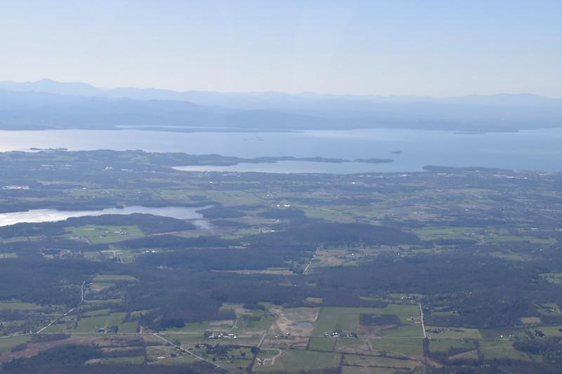 Shelburne Bay on Lake Champlain south of Burlington