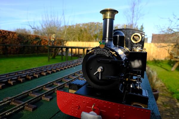 Change of the garden railway