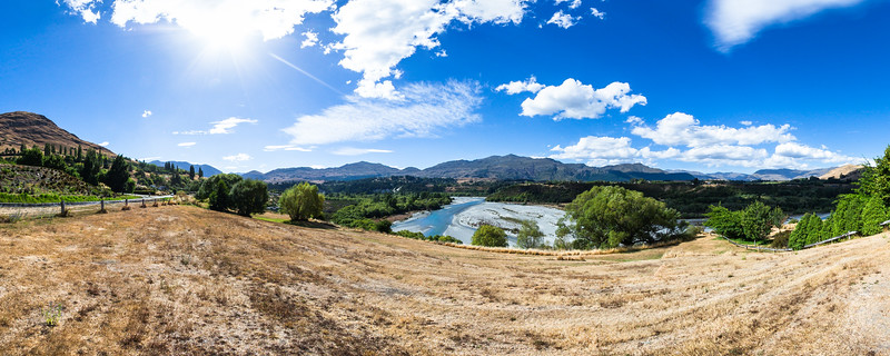 Shotover River view from Tucker Beach Road - Queenstown Lakes District