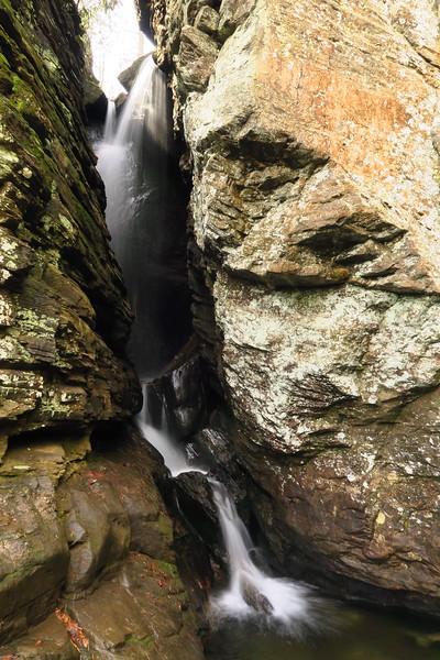 Raven Cliff Falls  (5.4 miles; d=6.80)