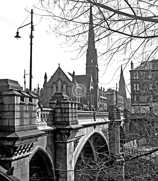 Kelvin Bridge.  March 1975
