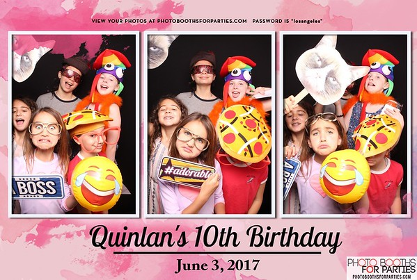 Quinlan's 10th Birthday