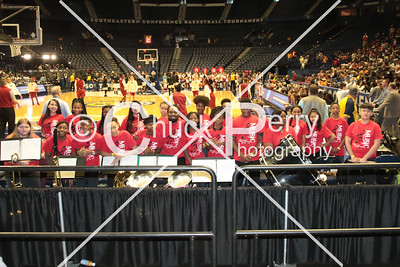 SEC Women 2018 FANS - Nashville - school children