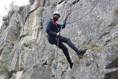 MS 8th Teambuilding Rappelling 5-20-21