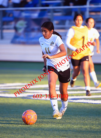 2-13-19 - Cibola @ Xavier College Prep (AIA 6A Play-In Playoff) - Girls Soccer Game