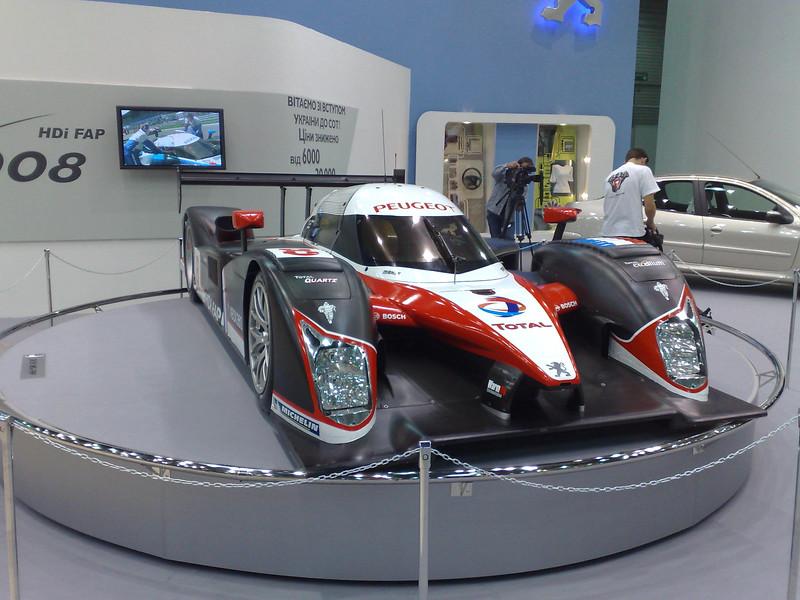 Peugeot LeMans Car