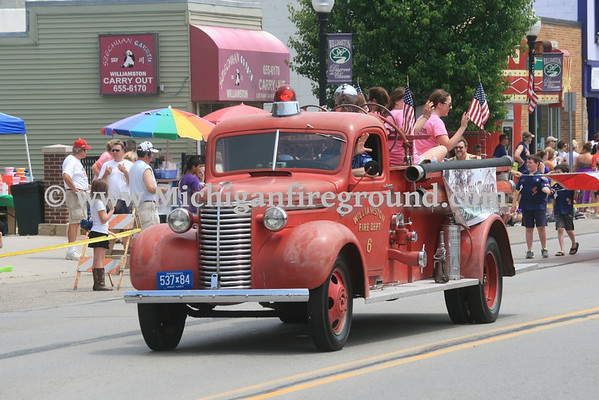 6/22/13 - Williamston Jubilee parade & waterball
