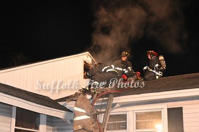 Dwelling Fire - Poospatuck Ln, Mastic, NY - 1/21/21