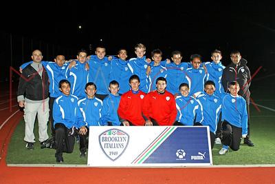 Brooklyn Italians S.A. Roma U-16 Team Photos