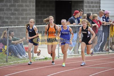 Girls 800m Run - 2012 MHSAA LP D2 T&F Finals