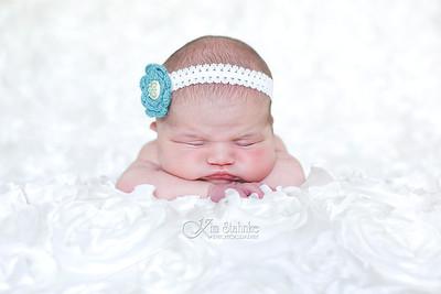 Girl Newborn Session