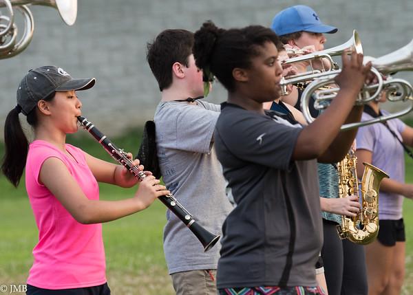 2017 PHS Marching Band - Band Camp