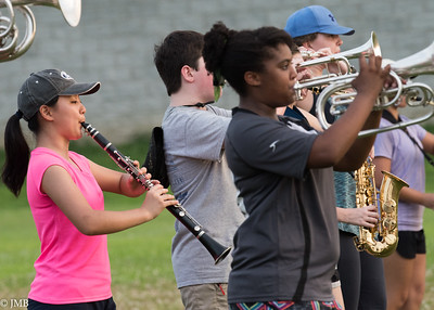 2017 PHS Marching Band - Band Camp