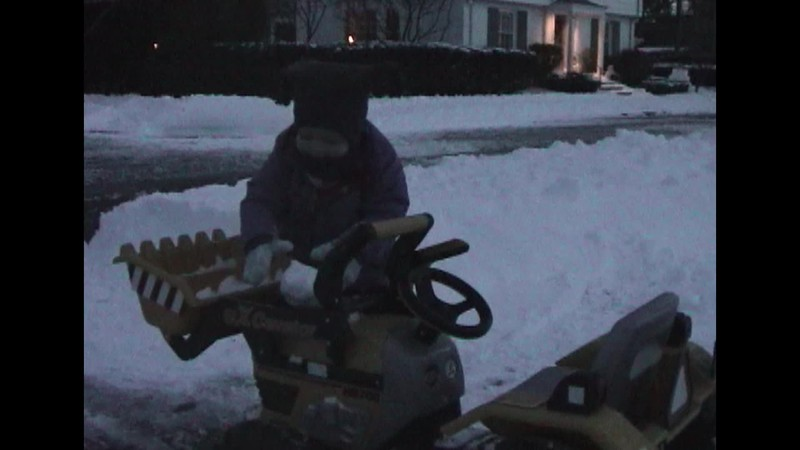 Tractor in Snow & Sleigh Ride.mp4