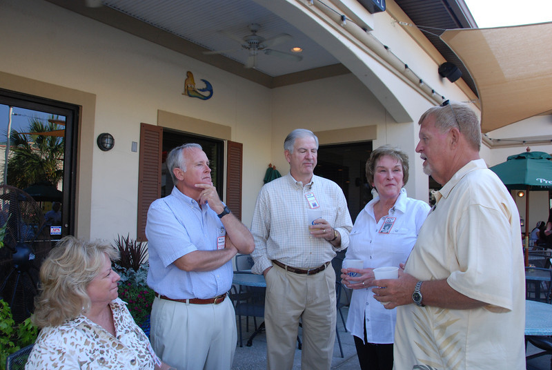 Kathy Dixon, Bill Thompson, Lamar and Sandy Orr Sizemore, Skip Dixon