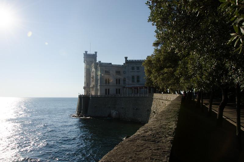 Costello di Miramare. Trieste