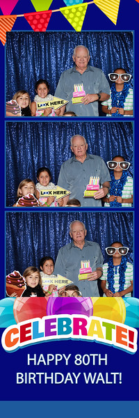 Walt's 80th Birthday