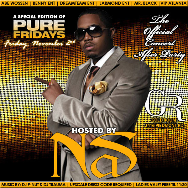 Nov-02-2012 PURE Friday w/ NAS at Gold Room ::: ATL, GA, USA